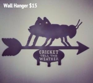 Wall Hanger $15